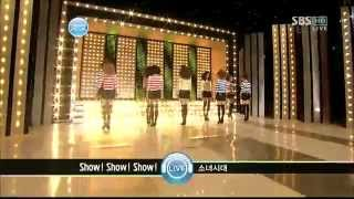 Video HD 100131 SBS Inkigayo SNSD Show! Show! Show! Comeback Stage-HD download MP3, 3GP, MP4, WEBM, AVI, FLV Oktober 2017