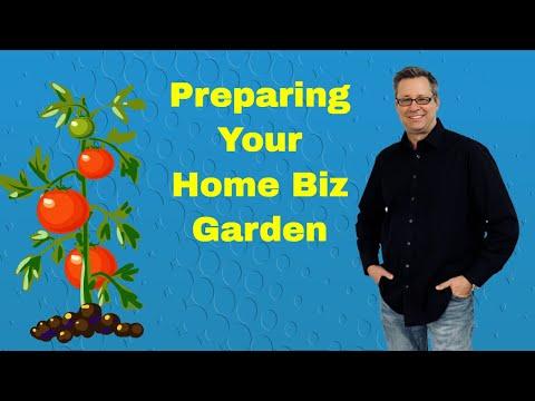 Preparing Your Home Business Garden