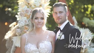THE MAKEUP I WORE ON MY WEDDING | Samantha Ravndahl