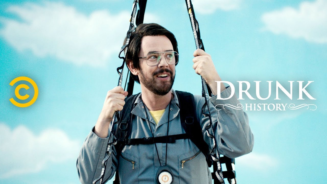 "The Day Larry Walters Became ""Lawn Chair Larry"" (feat. Colin Hanks) - Drunk History"