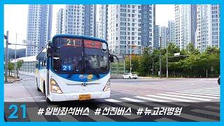 선진버스 21번 (김포…