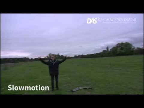 senseFly eBee drone - human impact test