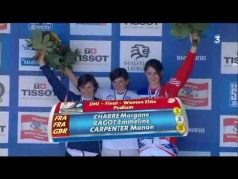 Emmeline Ragot vice championne du monde de VTT 2012