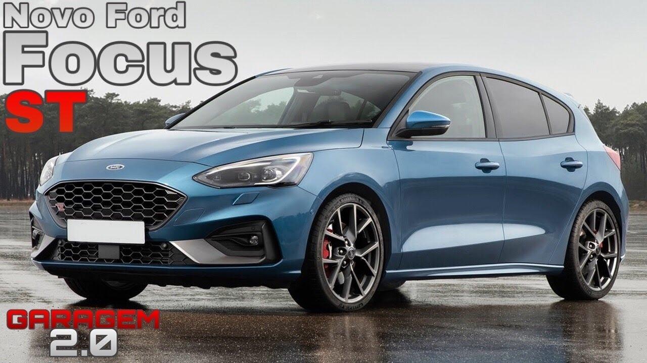 Novo Ford Focus St 2020 O Maior Concorrente Do Golf R Garagem