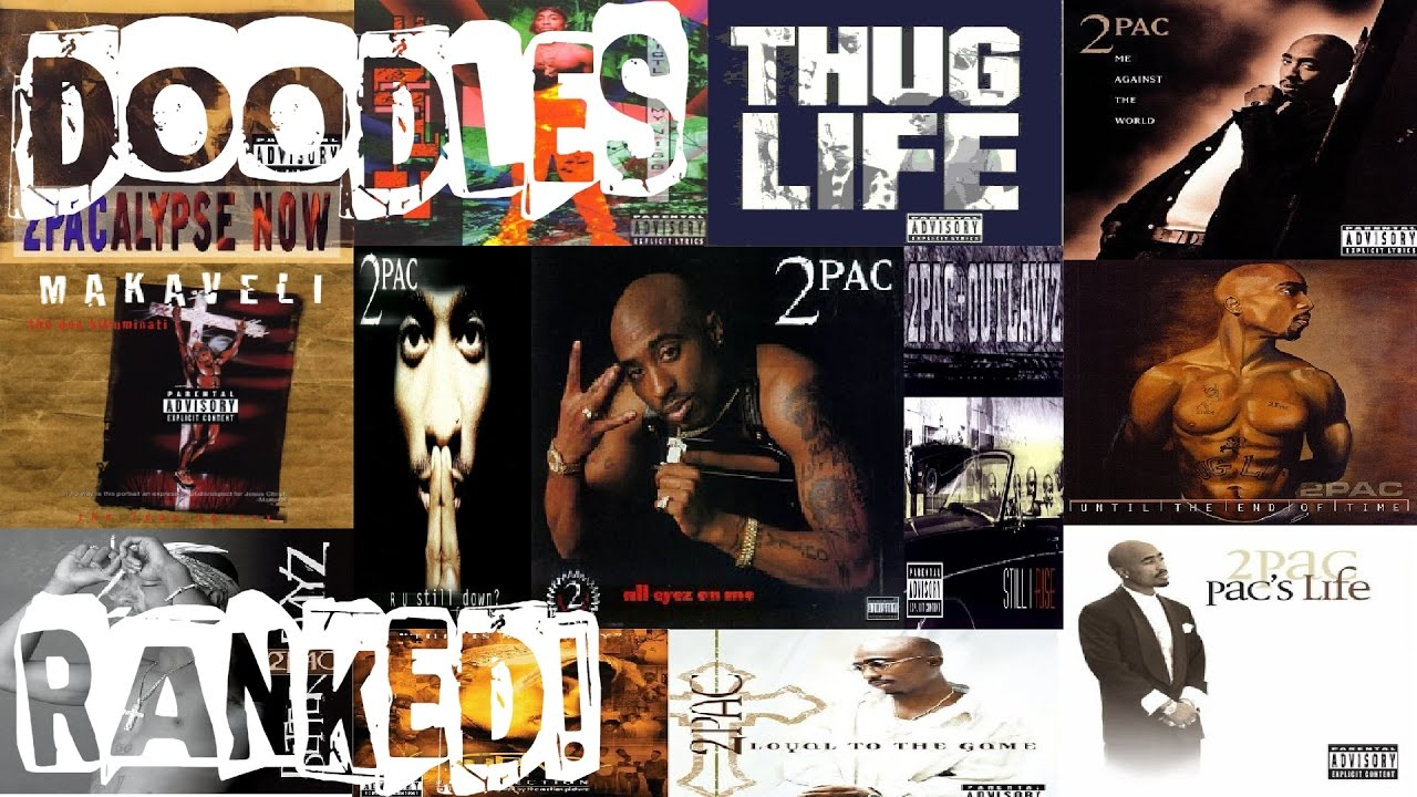 RANKED! 2Pac Albums From Worst To Best