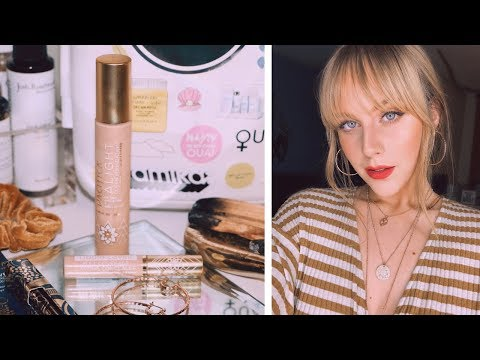 NEW PACIFICA ALIGHT CLEAN FOUNDATION + FULL COVERAGE CONCEALER DEMO