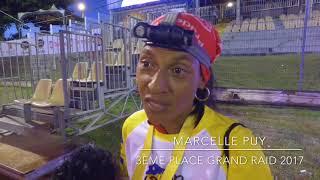 Marcelle Puy arrive 3ème féminine du Grand Raid 2017