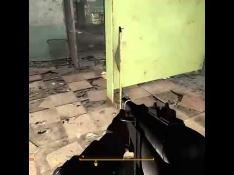 Fallout 4 Bathroom Stall Narnia Door