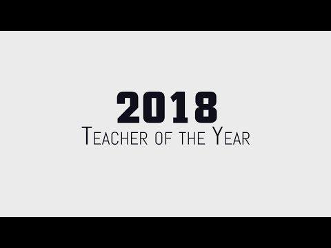 Geneva Scott, 2018 Teacher of the Year from Cathey Middle School