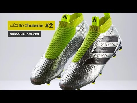 14f1679b7be4b Chuteira Adidas Ace 16+ Purecontrol Primeknit