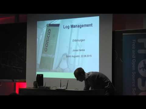 Jonas Henke: Zentrales Logmanagement
