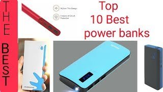 Top 10 best power banks under 1000 on Amazon ||best selling 10 power banks in 2019