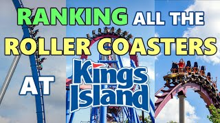 Ranking All The Roller Coasters At Kings Island (Mason, Ohio)