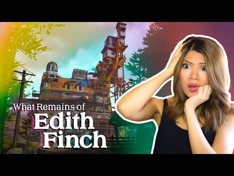 THE BEST HOUSE OF SECRETS EVER!! - What Remains of Edith Finch pt 1