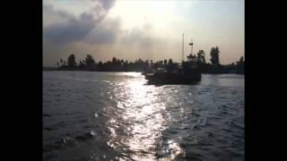 قناة السويس الجديدة: لحظة عمل المعدية الثانية بنمرة 6 لتسهيل مهمة عمال القناة