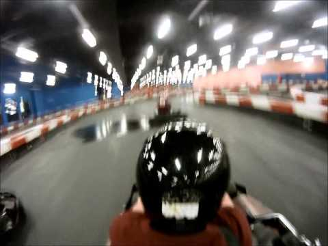 Gopro cam go carting at the villagio mall in Doha Qatar