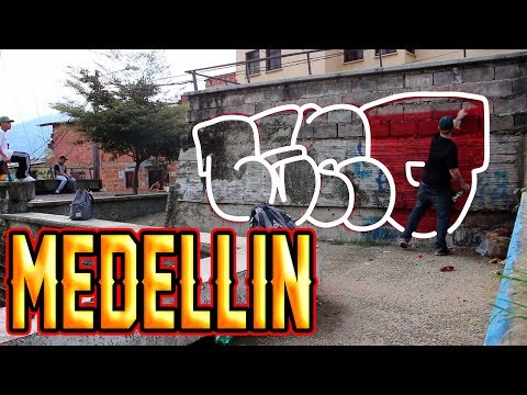 GRAFFITI BOMBING // CENO X REAMS // MEDELLIN