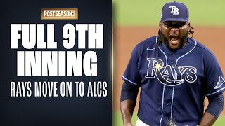 Full 9th Inning: Rays try to close out ALDS Game 5 up by 1 run vs. Yankees