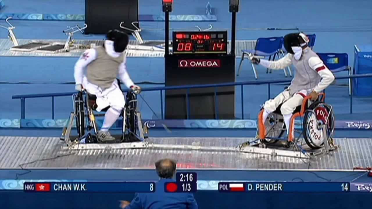 London 2012 Wheelchair Fencing Youtube