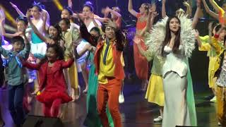 """Gisele Chiam (1 of 4 main leads) in """"Finale Part 2"""" of ChildAid 2017 Concert; Song: This is Asia"""