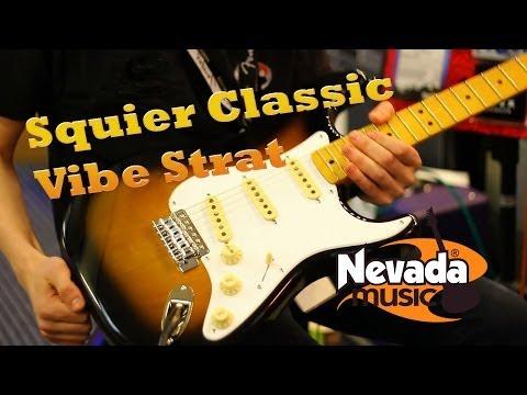 Squier Classic Vibe '50s Sunburst Strat Demo at PMTVUK