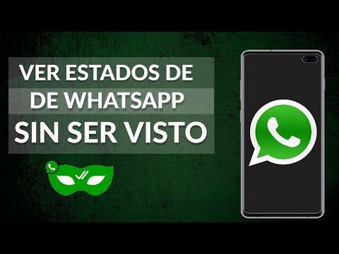 Cómo Ver un Estado de WhatsApp sin ser Visto