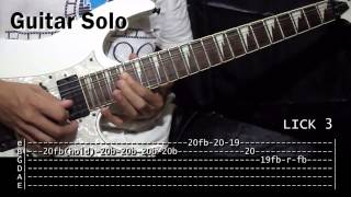 Nosi Balasi Sampaguita Guitar Solo Lesson Tutorial (WITH TABS) Part 1