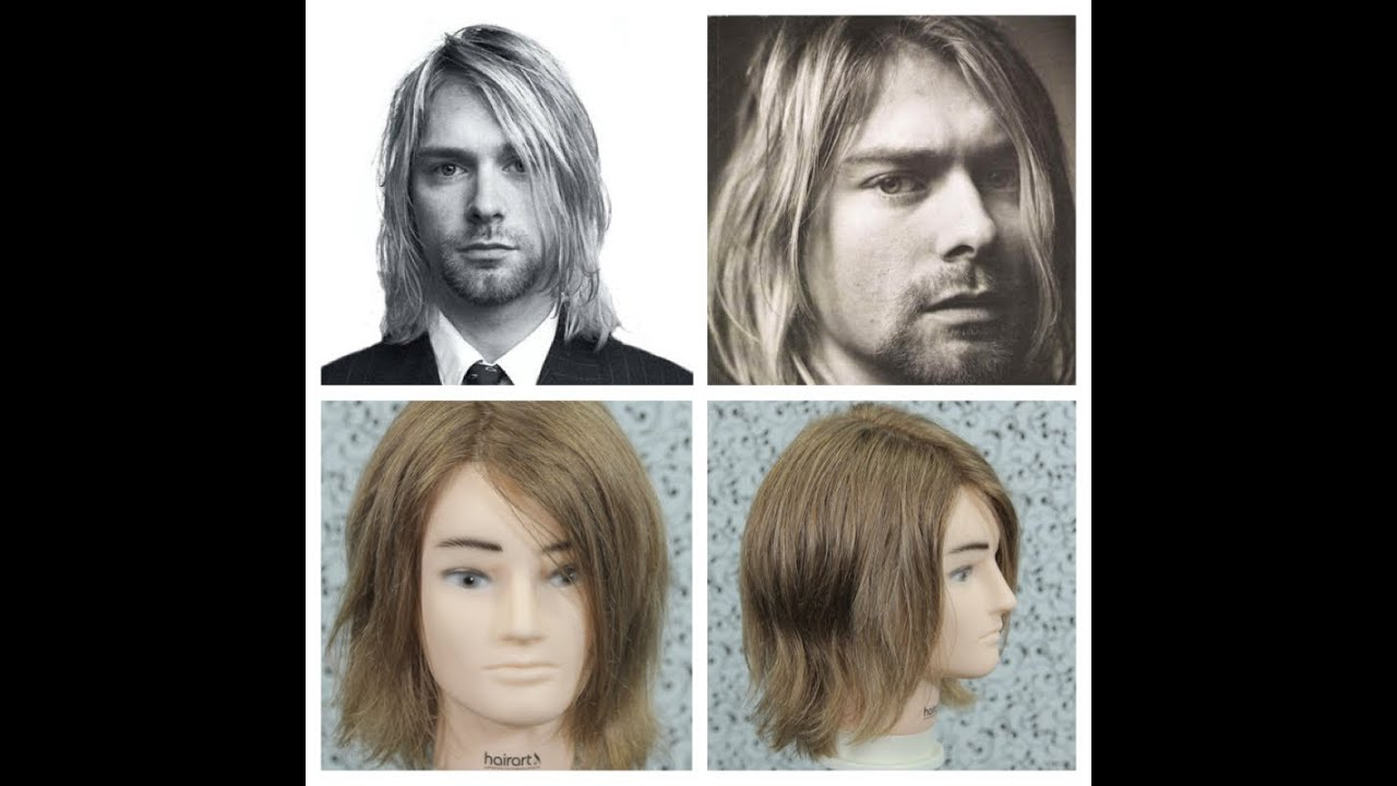 kurt cobain haircut tutorial