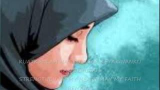 Mawaddah-Luruskan Hatiku Tuhan ( with lyrics )