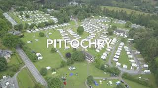 Faskally Caravan Park. Pitlochry. 8-6-2019