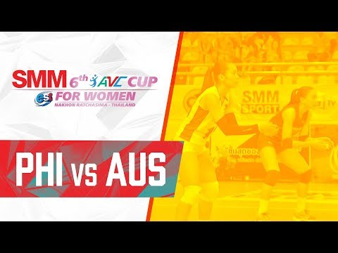 Australia def. Philippines, 3-2 (REPLAY VIDEO) 2018 AVC Cup | September 16