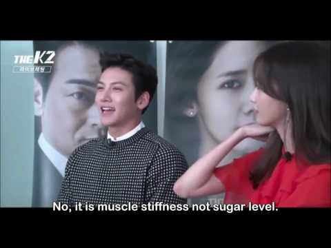 [ENG SUB] 160923 'THE K2' Live Chat PART 1/2 - Yoona & Chang wook