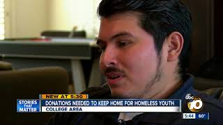 Donations needed to keep house for homeless youth open
