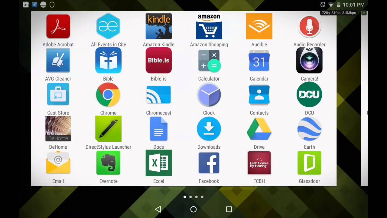 android full screen browser mode