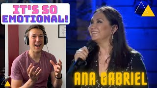 Thats why I love spanish language singers! - Ana Gabriel luna reaction by Actor and Voice coach