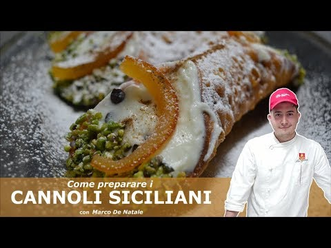 Come preparare i CANNOLI SICILIANI - Ricetta originale