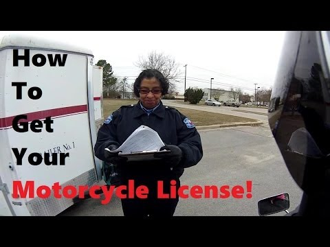 How To Get Your Motorcycle License
