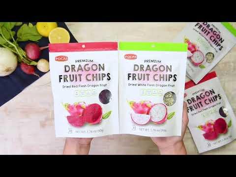 Collard Green & Dragon Fruit Crunchy Salad