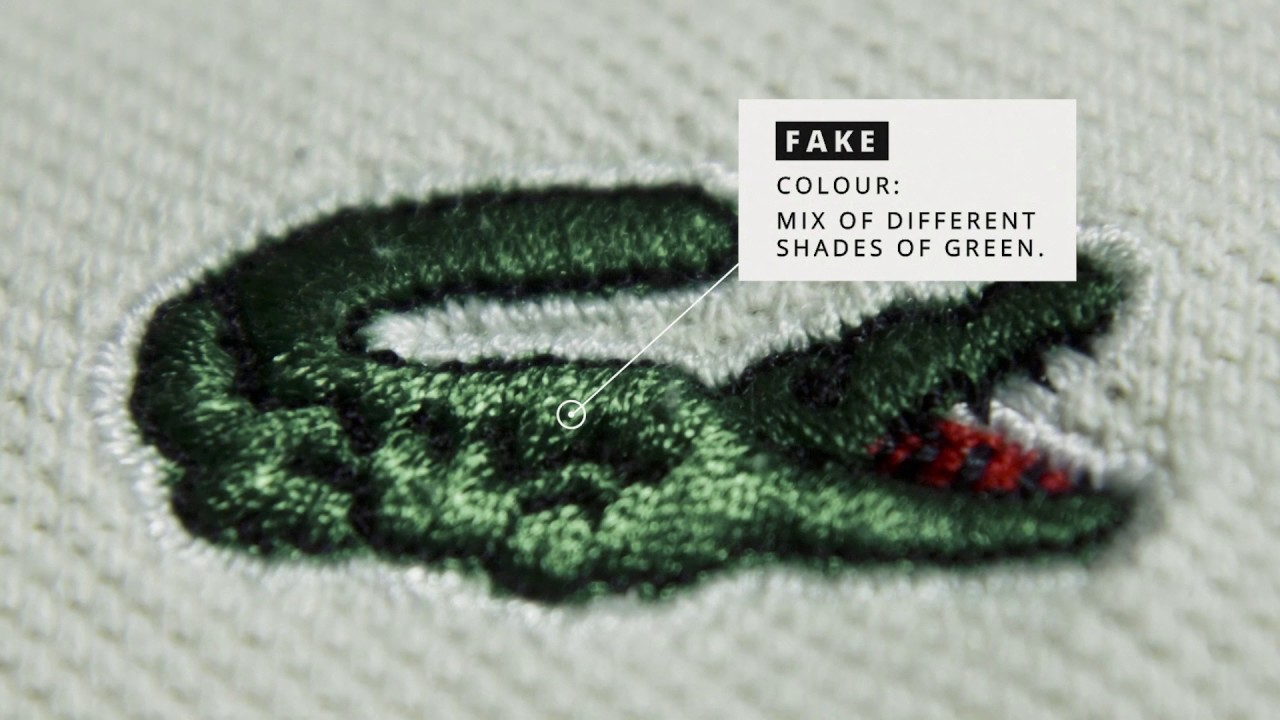how to spot fake lacoste shoes