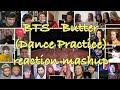 [BTS] Butter Dance Practice reaction mashup