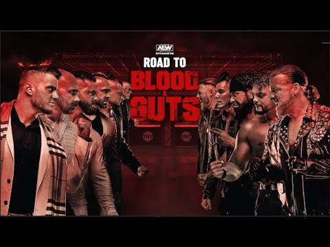 Road to AEW Dynamite Blood & Guts featuring The Pinnacle vs Inner Circle   5/3/21