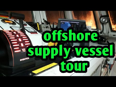 offshore vessel quick tour