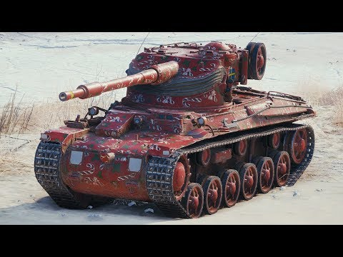 World of Tanks Strv m/42-57 Alt A.2 - 5 Kills 4,5K Damage thumbnail