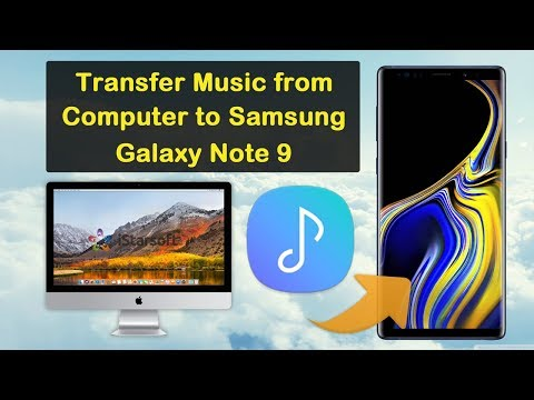 How To Transfer Music From Computer To Samsung Galaxy Note 9