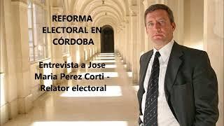Modificación del Régimen Electoral en la Provincia de Córdoba