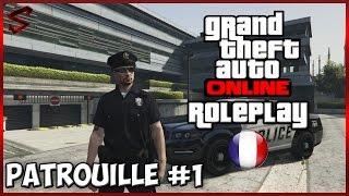 GTA V Online [Roleplay] PATROUILLE FR #1 contrôles et courses poursuite !!
