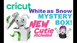 White As Snow Cricut Mystery Box February 2021 New Cutie