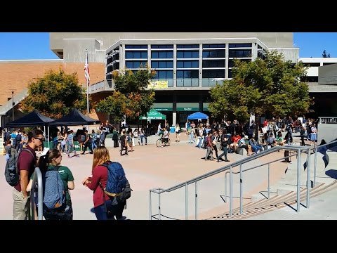 FIRST DAY OF COLLEGE - CAL POLY