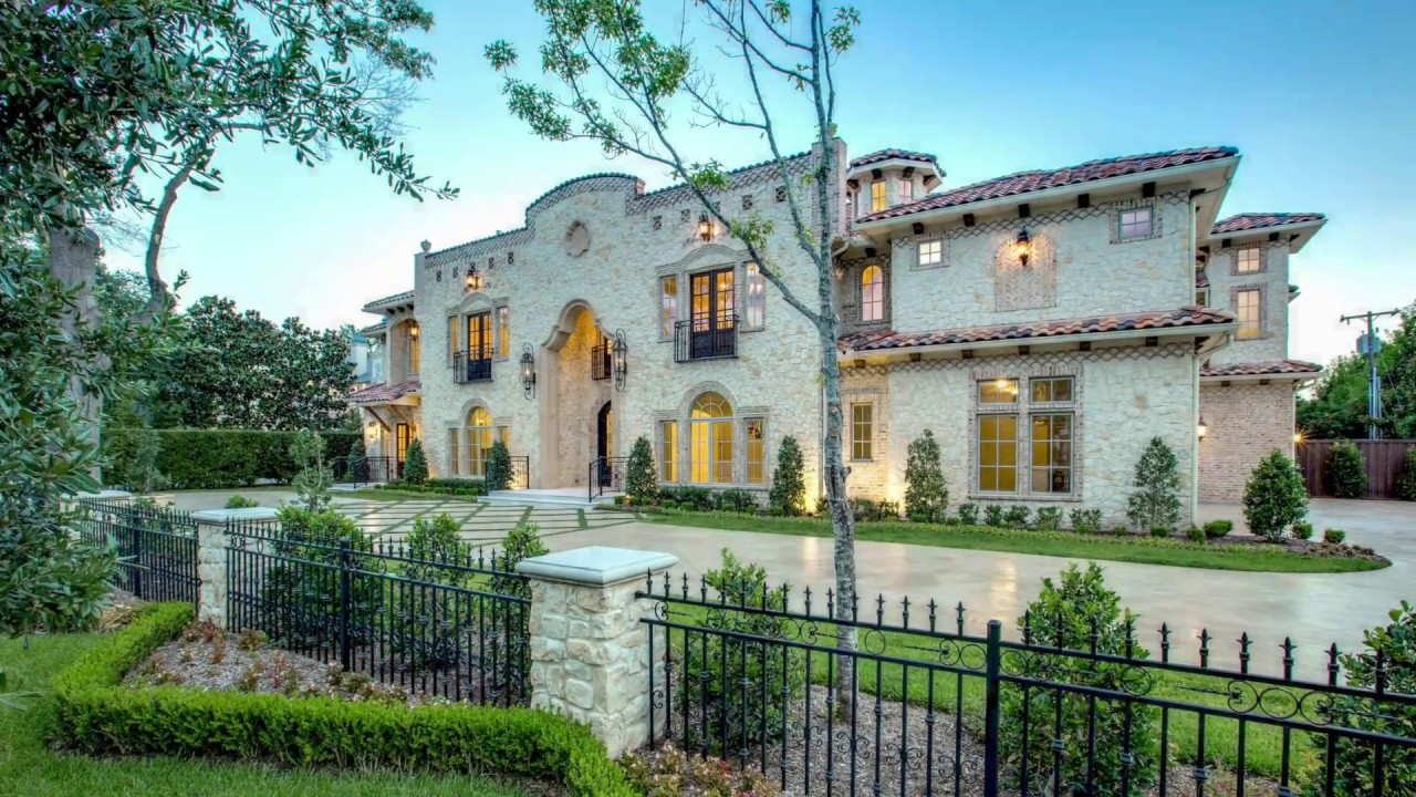 Incredible dallas estates on tour 10 youtube for Spanish style homes for sale near me