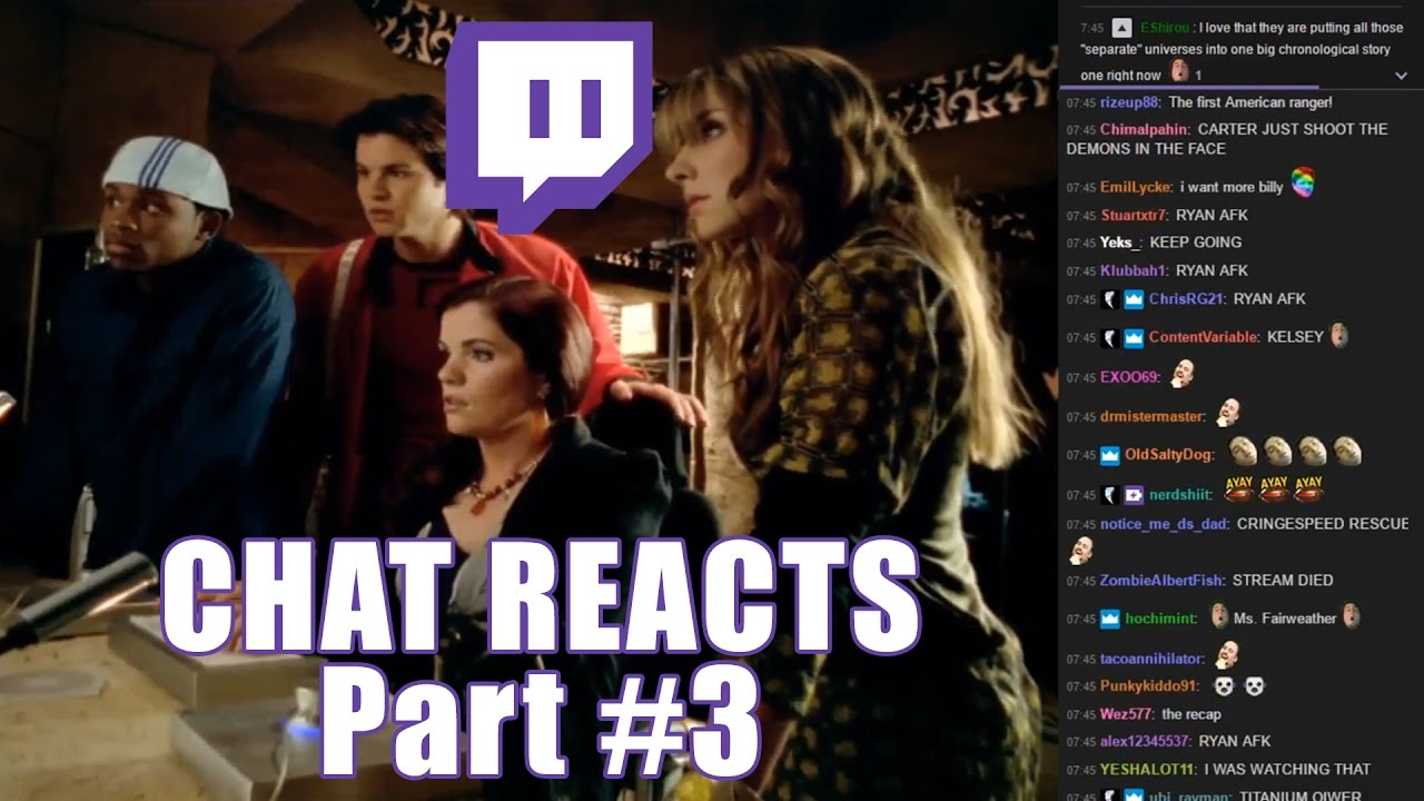 Image result for twitch chat power rangers